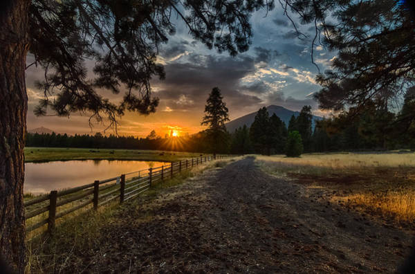 Central Oregon Photograph - Sunset Near Sisters Oregon by Exquisite Oregon