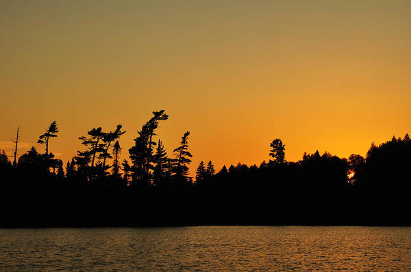 Bwcaw Photograph - Sunset On A Remote Wilderness Lake by Mark Herreid