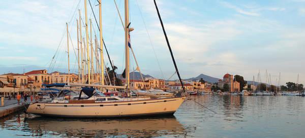 Photograph - Sunset On Aegina Town by Paul Cowan