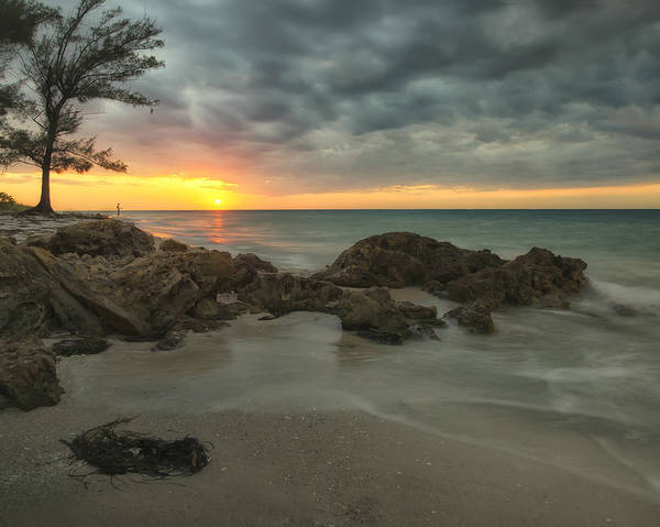 Maria Island Wall Art - Photograph - Sunset On Bean Point by Darylann Leonard Photography