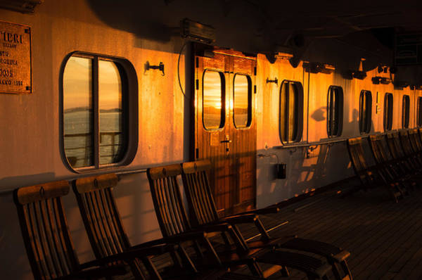 Holland America Line Wall Art - Photograph - Sunset At Sea by Marilyn Wilson