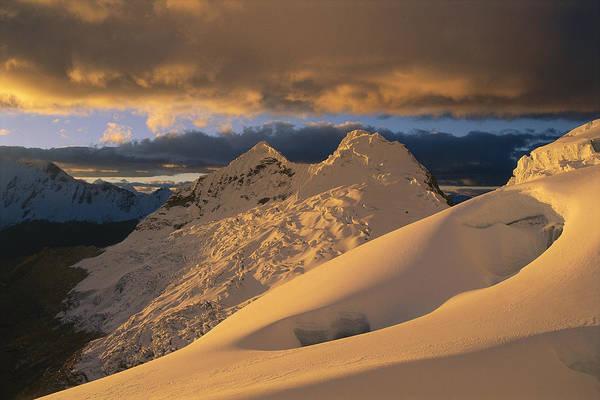 Dixon Photograph - Sunset On Chinchey Massif Peru by Grant  Dixon