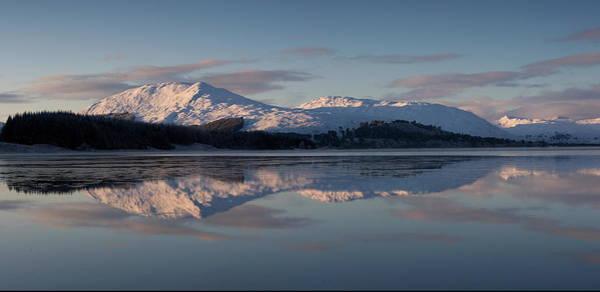 Frost Digital Art - Sunset On Crianlarich by Pat Speirs