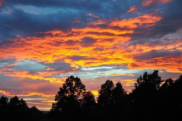 Wall Art - Photograph - Sunset On Hurricane Mountain 1 by Sherri Quick