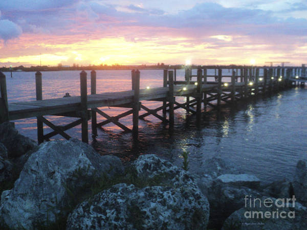 Photograph - Sunset On Indian River by Megan Dirsa-DuBois