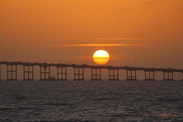 Photograph - Sunset On Laguna Madre Bay by Pat McGrath Avery