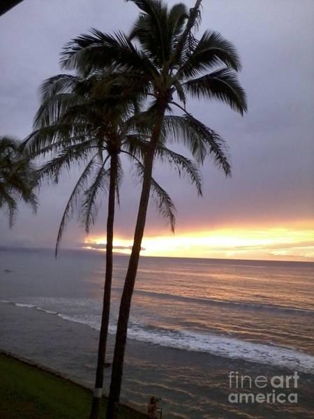 Wall Art - Photograph - Sunset On Maui by Elaina Deva