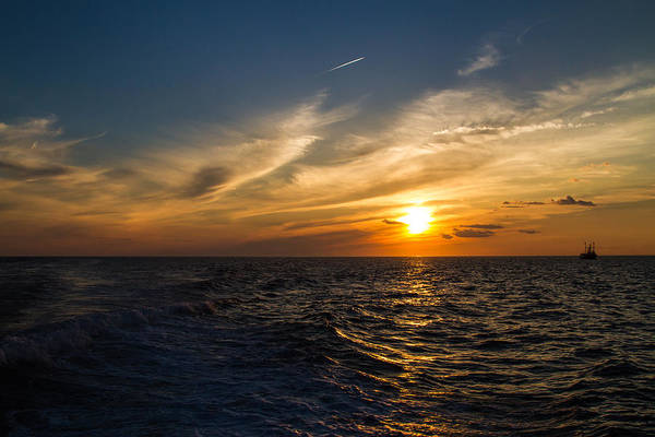 Photograph - Sunset On The Atlantic by Eleanor Abramson