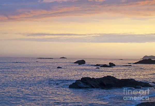 Photograph - Sunset On The Beach by Lula Adams