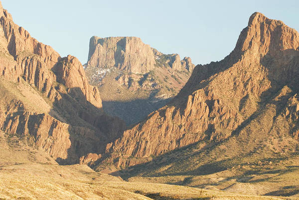 Chisos Mountains Photograph - Sunset On The Chisos Mountains by Tom Bol