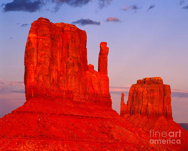 The Mitten Photograph - Sunset On The Mittens by Tracy Knauer