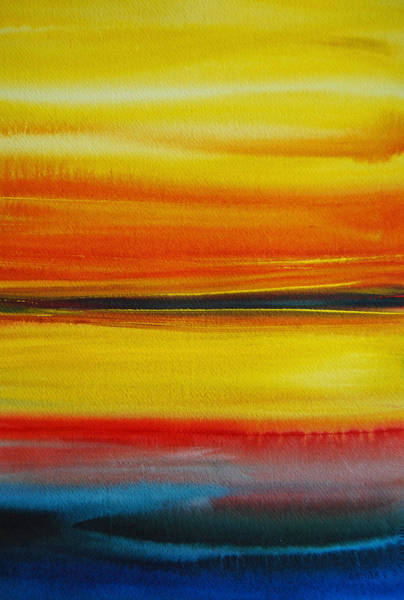 Painting - Sunset On The Puget Sound by Jani Freimann