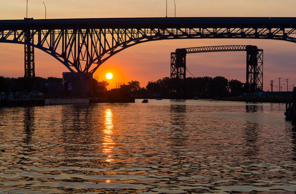 Photograph - Sunset On The River by Clint Buhler