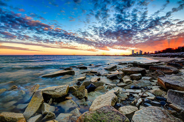 Wall Art - Photograph - Sunset On The Rocks by Anna-Lee Cappaert