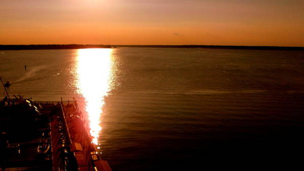 Daufuskie Island Wall Art - Photograph - Sunset Over Daufuskie Island Sc by Jennifer Bise Fox
