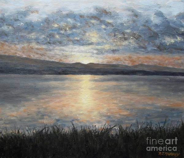 Donegal Painting - Irish Landscape 23 by Patrick J Murphy
