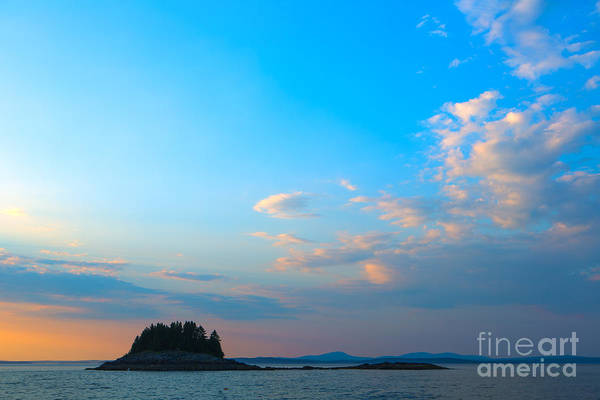 Wall Art - Photograph - Sunset Over Frenchman Bay by Diane Diederich