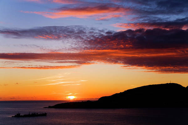 Greater Antilles Photograph - Sunset Over Great Bay by Richard Cummins