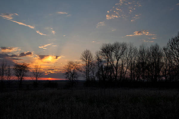 Horicon Wall Art - Photograph - Sunset Over Horicon Marsh  by Natural Focal Point Photography