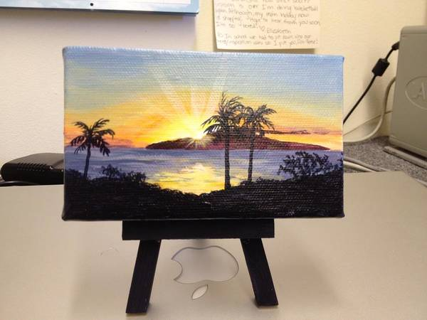 Painting - Sunset Over Lanai by Darice Machel McGuire