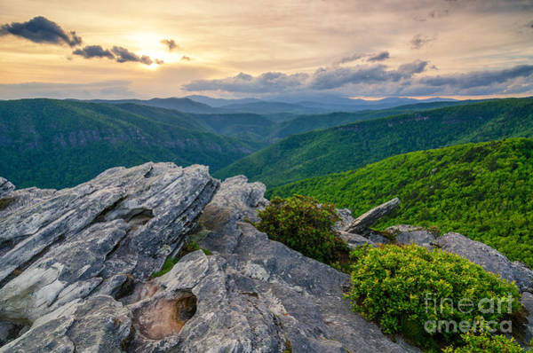 Wall Art - Photograph - Sunset Over Linville Gorge by Anthony Heflin