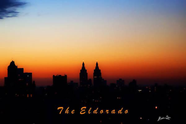 Wall Art - Photograph - Sunset Over Manhattan - The Eldorado View by Madeline Ellis