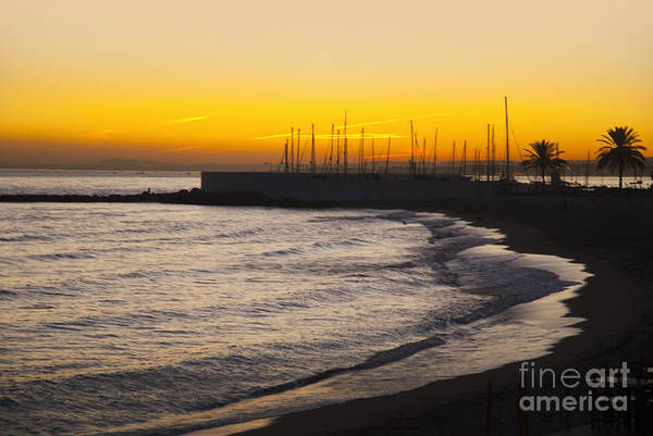 Photograph - Sunset Over Marbella Beach by Brenda Kean