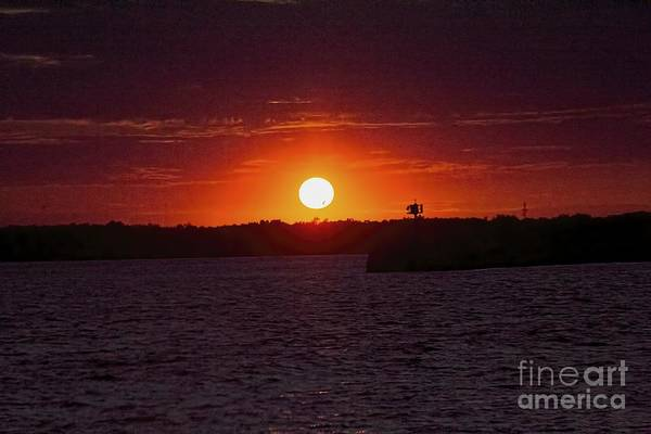 Photograph - Sunset Over Ontario by Jim Lepard