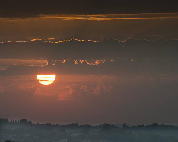 Sunset Over Rochester Art Print