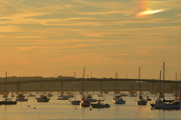 Photograph - Sunset Over Salem Harbor by Toby McGuire
