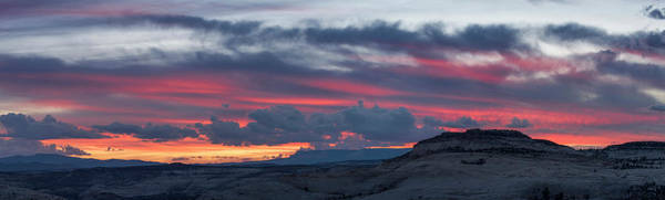 Grand Staircase National Monument Photograph - Sunset Over Slickrock, Grand by Panoramic Images