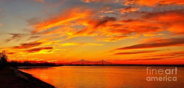 Photograph - Sunset Over The Barry by Nick Zelinsky