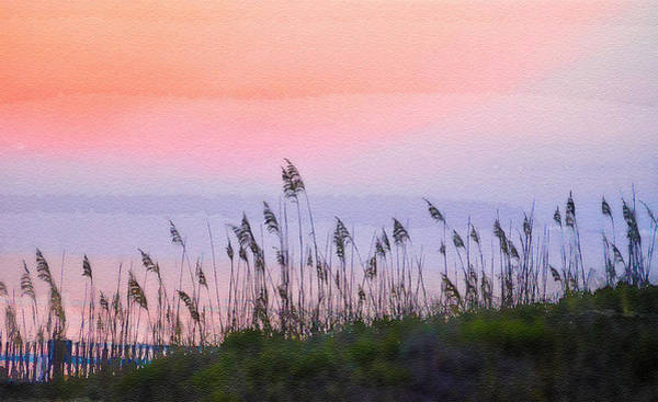 Wall Art - Photograph - Sunset Over The Dunes by Dave Sandt