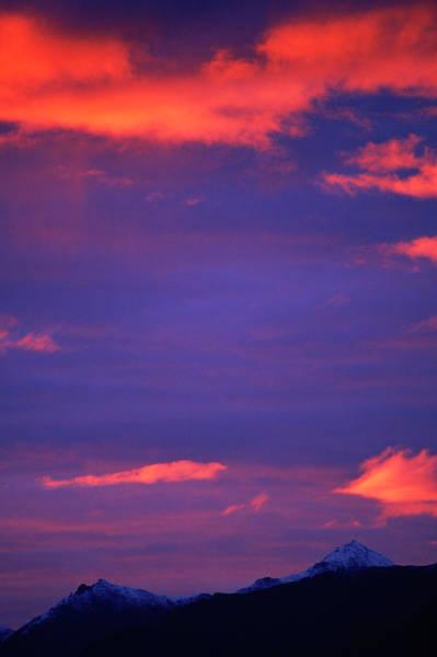 Wald Wall Art - Photograph - Sunset Over The Koyukuk River, Alaska by Beth Wald