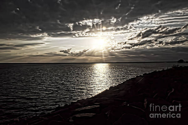 Photograph - Sunset Over The Lake by Jim Lepard