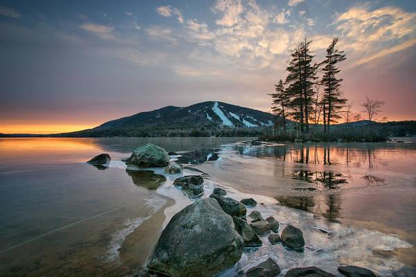 Photograph - Sunset Over The Mountain by Darylann Leonard Photography