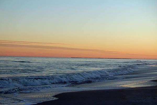Photograph - Sunset Over The Ocean by Cynthia Guinn