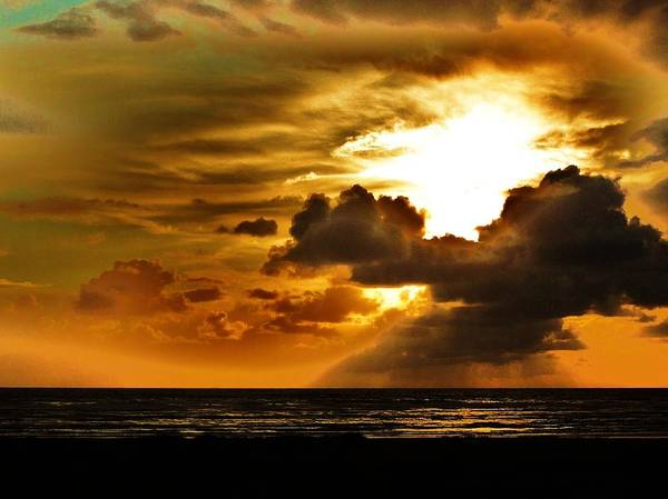 Photograph - Sunset Over The Pacific II by Helen Carson