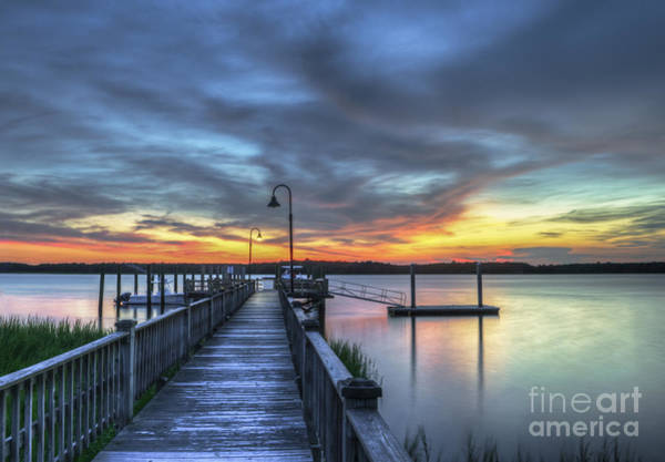 Photograph - Sunset Over The River by Dale Powell