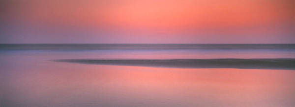 Peacefulness Photograph - Sunset Over The Sea, Goa, India by Panoramic Images