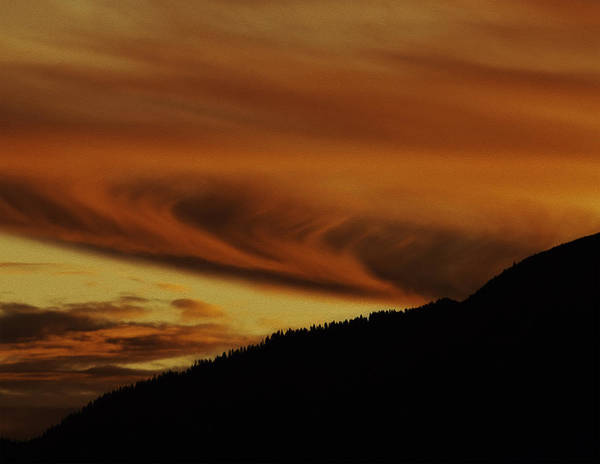 Wall Art - Photograph - Sunset Over The Sierra-nevada Mountains by Nancy Marie Ricketts