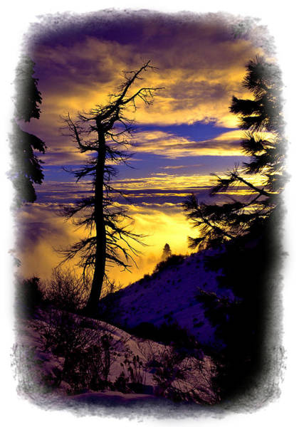 Photograph - Sunset Over The Treasure Valley by Ed  Riche