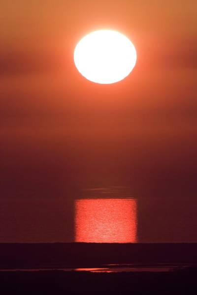 Sun Set Photograph - Sunset Over Tremadog Bay by David Woodfall Images/science Photo Library
