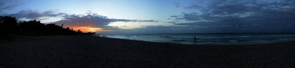 Wall Art - Photograph - Sunset Over Varadero Beach, Varadero by Panoramic Images