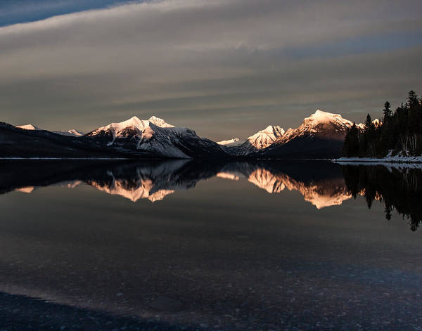 Wall Art - Photograph - Sunset Peaks by Aaron Aldrich