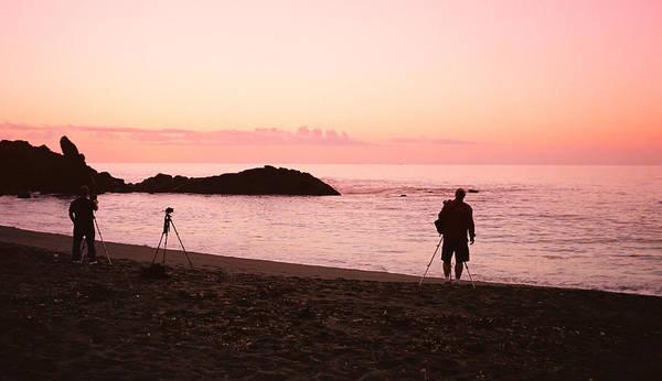 Photograph - Sunset Photographers Minus 1 by HW Kateley