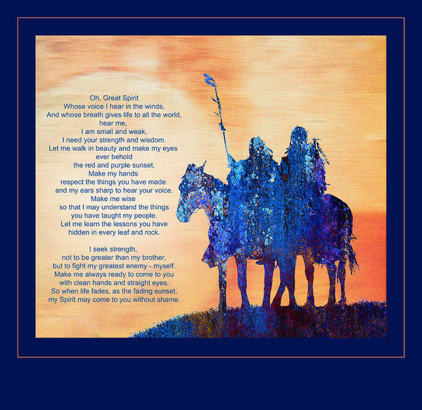 Painting - Sunset Prayer by Rick Mosher