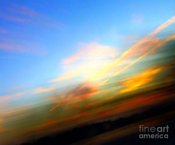 Photograph - Sunset Reflections - Abstract by Robyn King