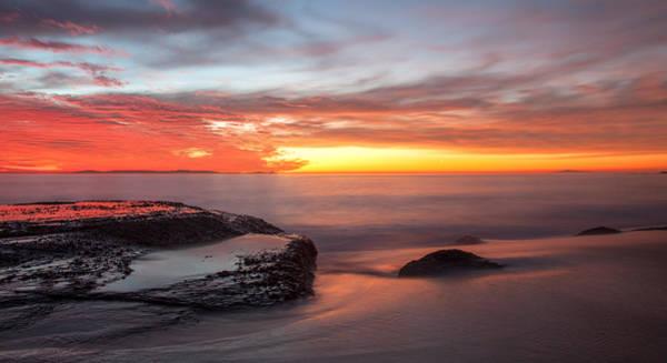 Photograph - Sunset Reflections by Cliff Wassmann