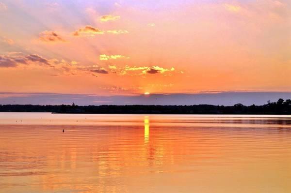 Photograph - Sunset Reflections by Kim Bemis